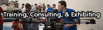 Click here to learn more about our training, consultation, and exhibition options.